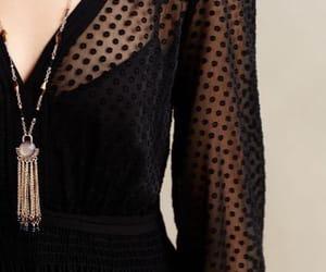 fashion, black, and blouse image