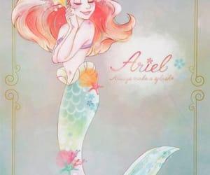 ariel, disney, and princesse image