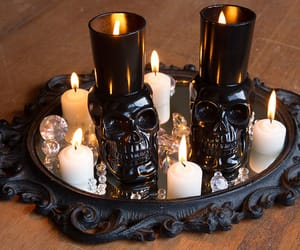 halloween candles and diy halloween candles image