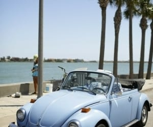 car, blue, and summer image