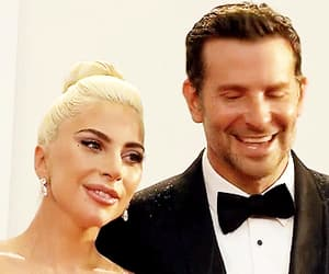 a star is born, gif, and Lady gaga image