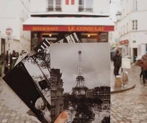 paris, travel, and autumn image