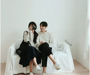 aesthetic, asian boy, and asian girl image