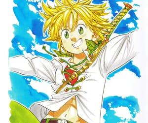 nanatsu no taizai and meliodas image