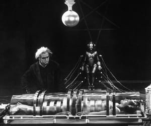 metropolis, silent movies, and brigette helm image