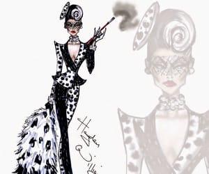 101 dalmatians, fashion, and art image