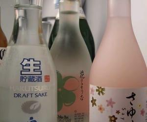 drink, sake, and theme image