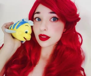 aesthetic, ariel, and blue eyes image