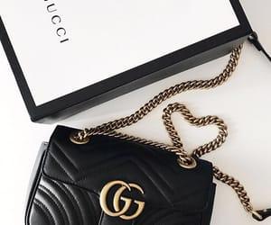 bag, black, and expensive image