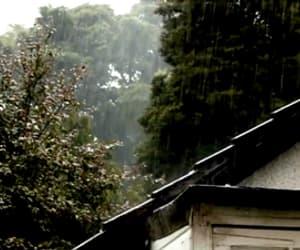 gif, rain, and weather image