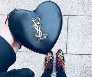bag, expensive, and heart image