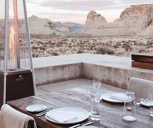 desert, dinner, and wallpaper image
