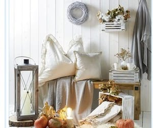 autumn, pumpkins, and candles image