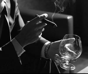 gentleman, men, and glass image