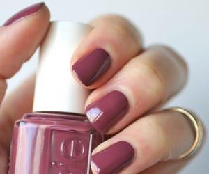 nails, nail polish, and style image