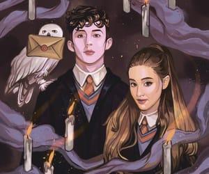 art, hogwarts, and draw image