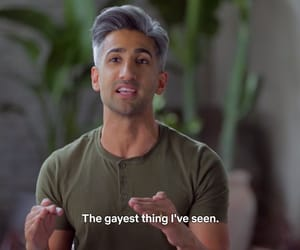 meme, reaction, and queer eye image
