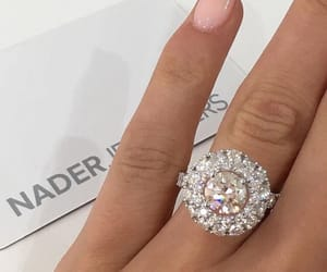 diamond, luxury, and ring image