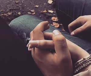 Relationship, holding hands, and couples image