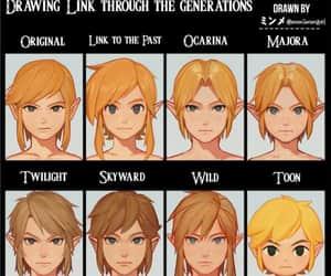 link, the legend of zelda, and wind waker image