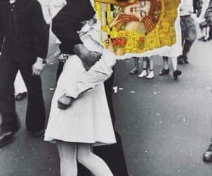 antiguo, the kiss, and Collage image