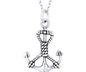 ankh, jewelry, and sterling silver image