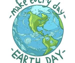 earth, earth day, and save the world image