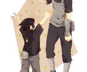 naruto, brothers, and uchiha image