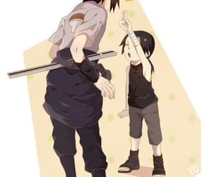brothers, itachi uchiha, and naruto image