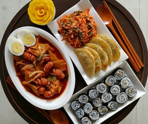 aesthetic, colorful, and dumpling image