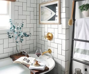 architecture, bathroom, and building image