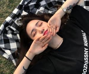 asian, korean, and girl image