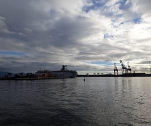 barco, mar, and naturaleza image