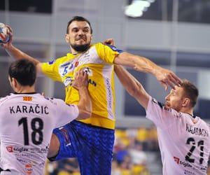 handball, sport, and champions league image