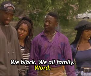 90s, tupac, and black image