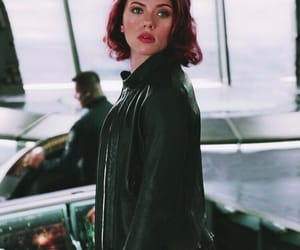 black widow, Scarlett Johansson, and the avengers image