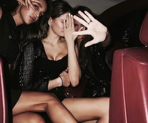 girl, party, and car image