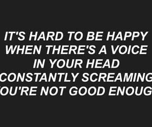 quotes, sad, and hard image
