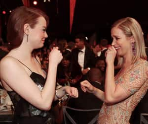 emma stone and Emily Blunt image