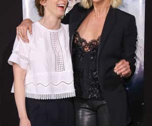 Charlize Theron and Emily Blunt image