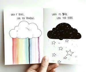 card, cloud, and dark image
