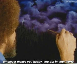 painting, quotes, and happy image