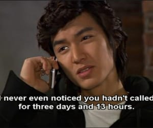 quotes, Boys Over Flowers, and funny image
