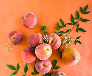 peach, orange, and fruit image