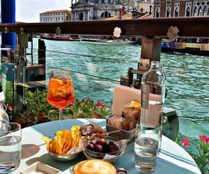 food, venice, and breakfast image