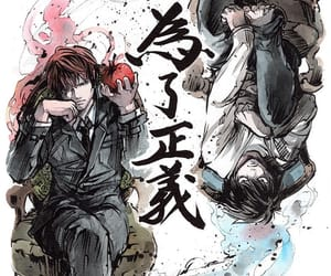 anime, crime, and death note image