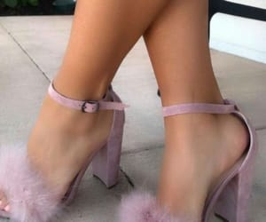 purple, shoes, and soft image