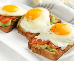 beautiful, eggs, and fitness image