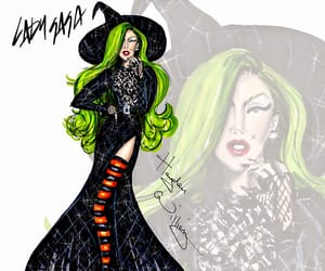 art, gaga, and wicked witch image