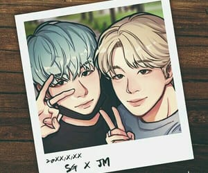 bts and yoonmin fanart image